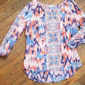 Kim Rogers patterned top
